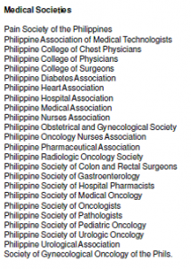Medical Societies
