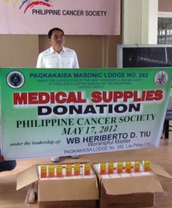 medical supplies donation
