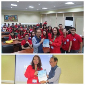 """The PCS discussed """"Palliatve Care: What Can It Offer?"""" during the 9th Annual Post Graduate Course of the Lung Center of the Philippines' Physicians Association. The PCS, LCP and SM Foundation has a joint program for pediatric hospice and palliative care at the Lung Center of the Philippines."""
